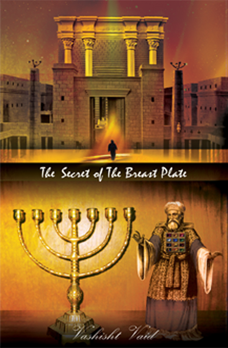 Book cover of The Secret of the Breast Plate by Vashisht Vaid